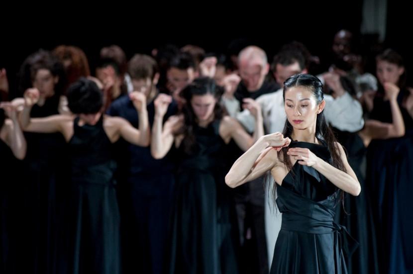 Continu (Niannian Zhou, Ensemble) © Sebastian Bolesch