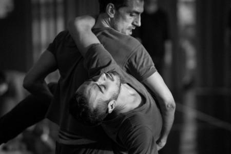 Roméo et Juliette_Probenfoto_ Manuel Alfonso Pérez Torres, Aladino Rivera Blanca © Sebastian Bolesch