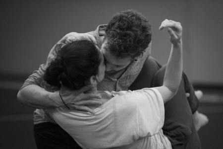 Roméo et Juliette_Probenfoto_Joel Suárez Gómez, Yael Schnell © Sebastian Bolesch