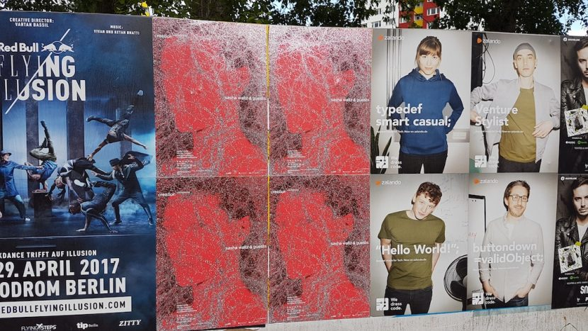 Plakat zu Kreatur in der Stadt ©Daniel Wiesmann