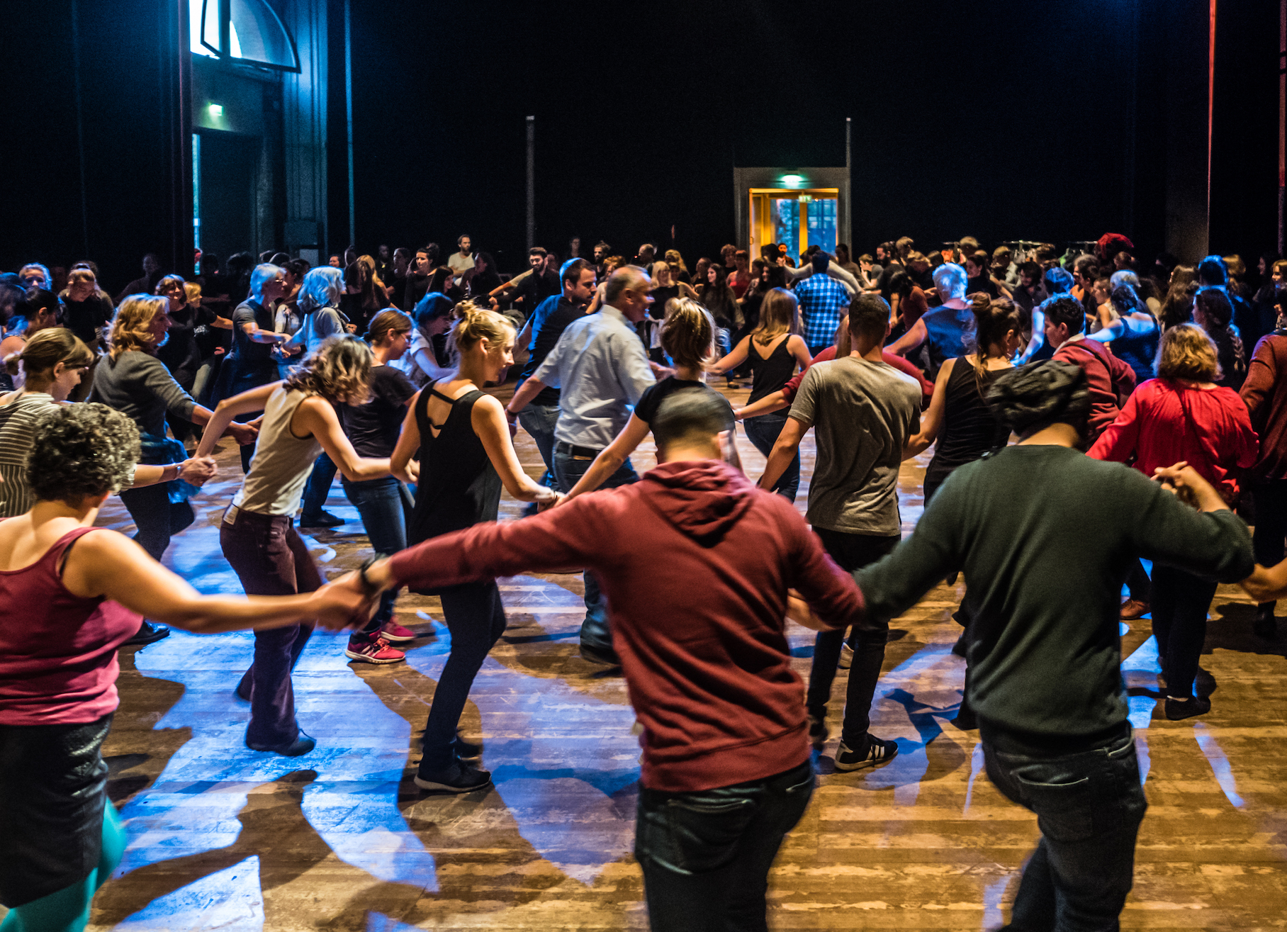 Dabke Community Dancing ©Jason Krueger