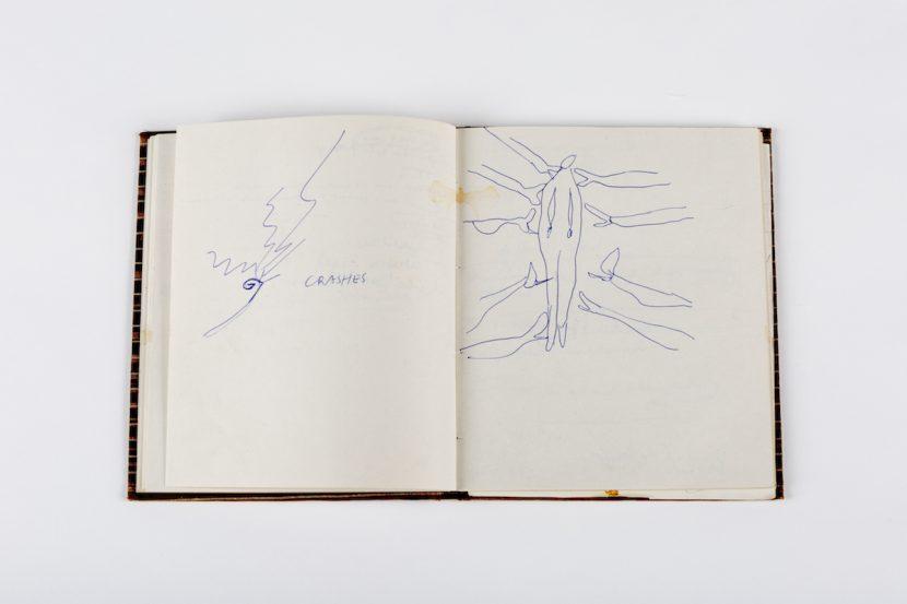 Skizze von Sasha Waltz zu »noBody« 2002